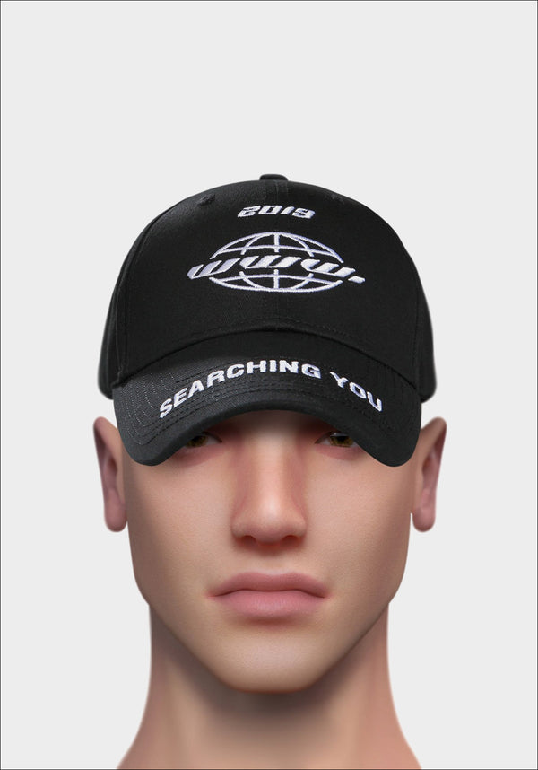 Black 'SEARCHING YOU' Cap