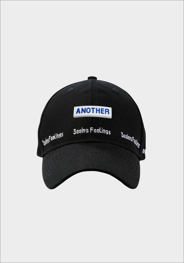 Black 'SEEING FEELINGS' Cap