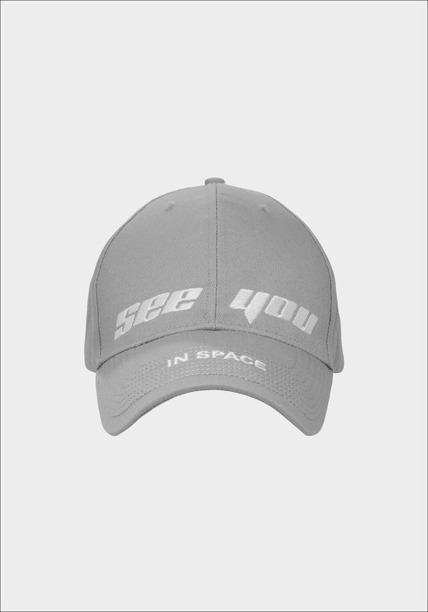 Grey 'SEE YOU IN SPACE' Cap