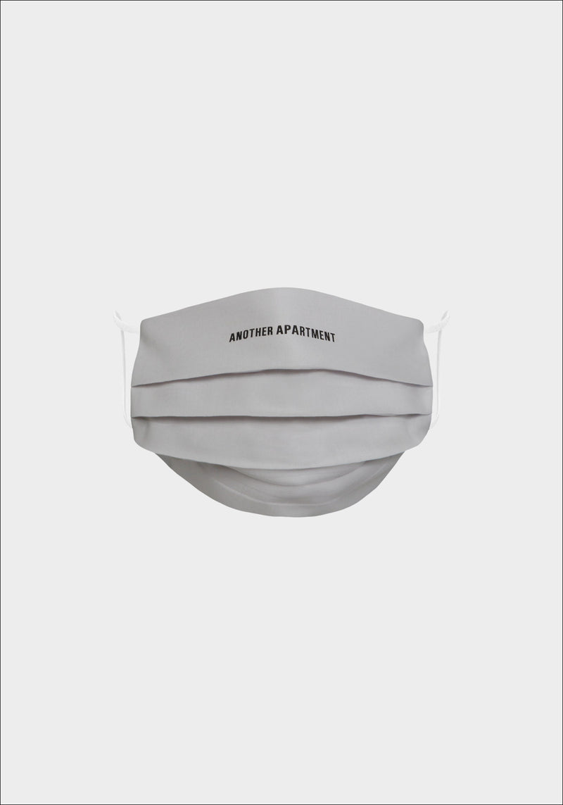 Grey Another Apartment Logo Face Mask