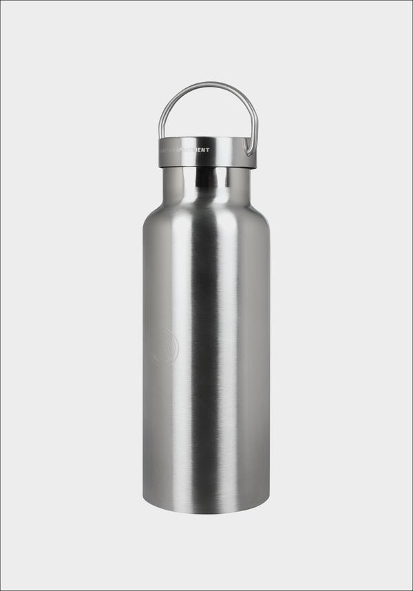 Another Apartment Silver Logo Symbol Bottle