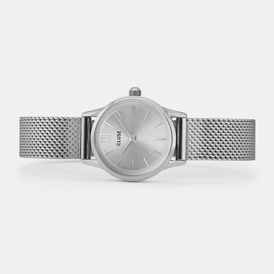 Cluse La Vedette Silver Full Mesh Watch