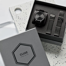 Load image into Gallery viewer, Cluse La Bohemme Mesh Dark Grey Gift Box