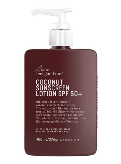 We Are Feel Good Inc - Coconut Sunscreen Lotion SPF 50