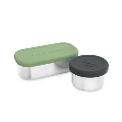 Seed & Sprout Leak-Proof 2 Pot Set
