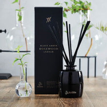 Load image into Gallery viewer, Urban Rituelle Alchemy Black Amber, Rosewood & Cedar Fragrance Diffuser Set