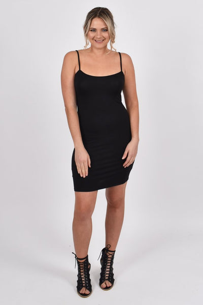 PQ Collection Bamboo Slip Dress