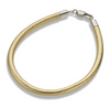 Palas Gold Leather Fine Bracelet