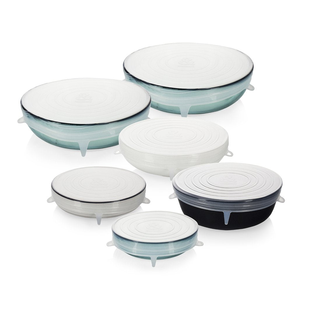 Seed & Sprout Large Reusable Stretch Lids - Set of 6