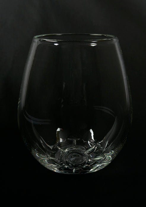 Covid Stemless Wine Glass