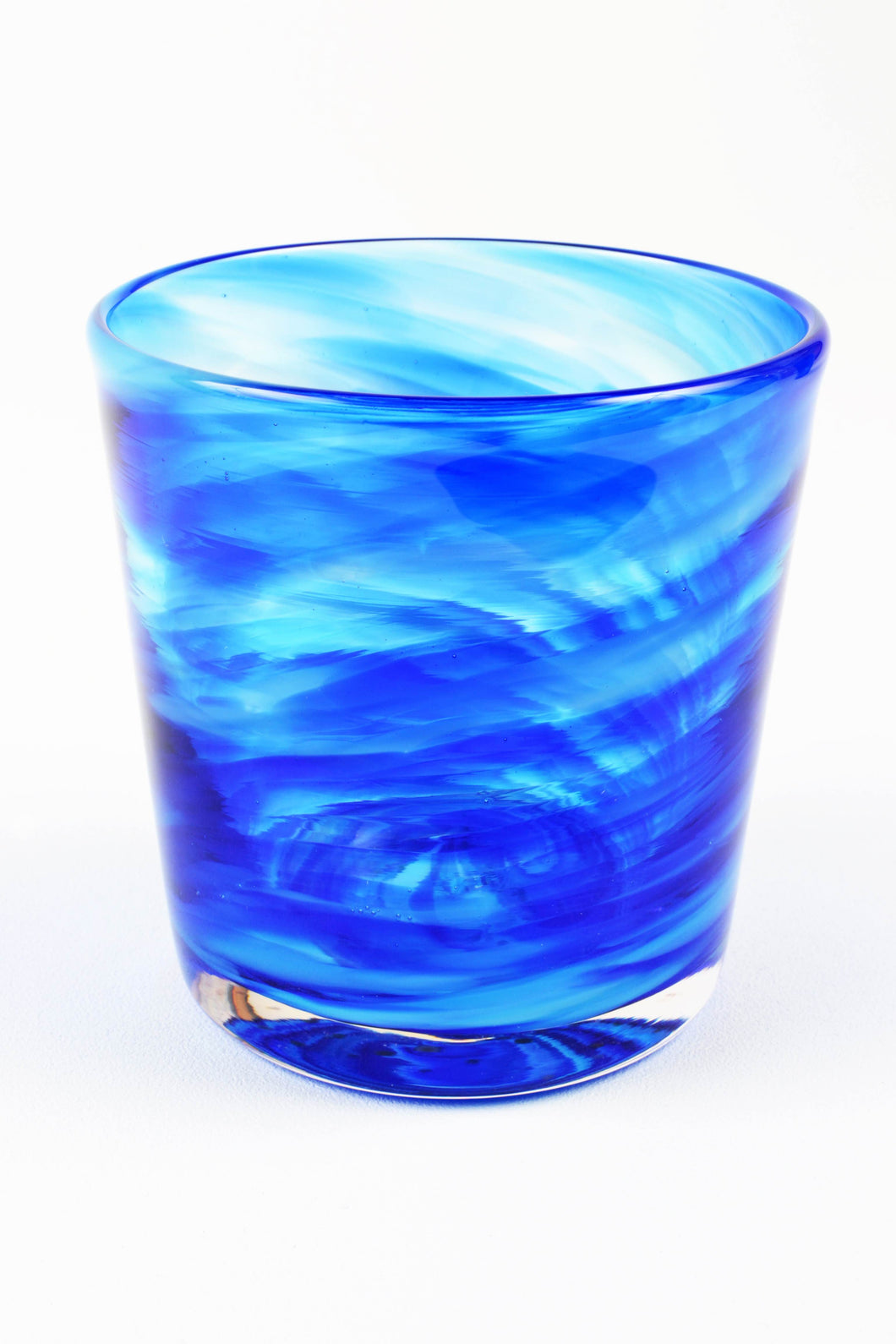 Swirl Highball Glass in Blue