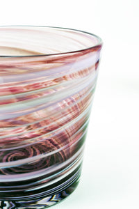 Swirl Highball Glass in Purple