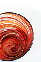 Load image into Gallery viewer, Swirl Highball Glass in Red