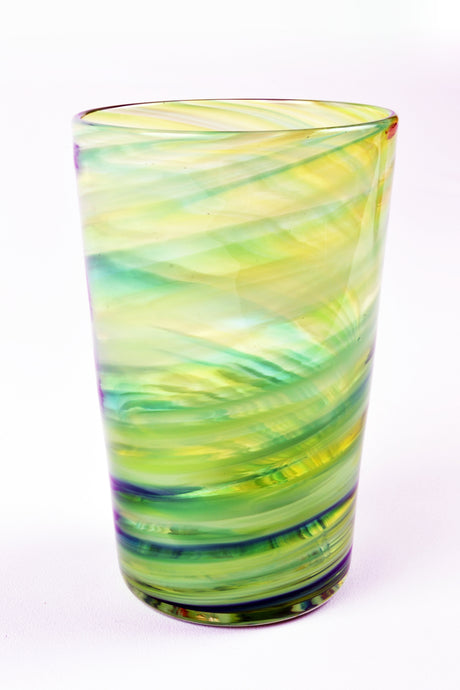 Swirl Tall Tumbler in Green