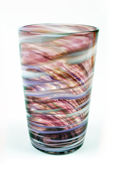 Swirl Tall Tumbler in Purple