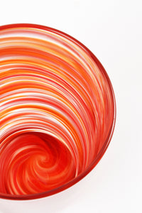 Swirl Tall Tumbler in Red
