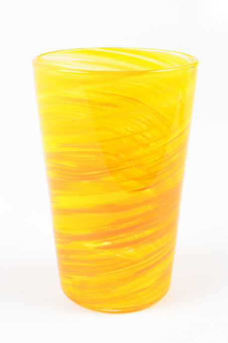 Swirl Tall Tumbler in Yellow
