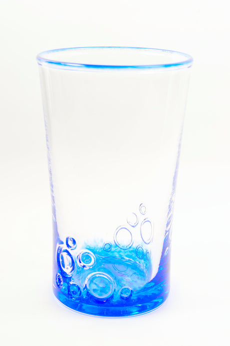 Bubbles Tumbler in Blue