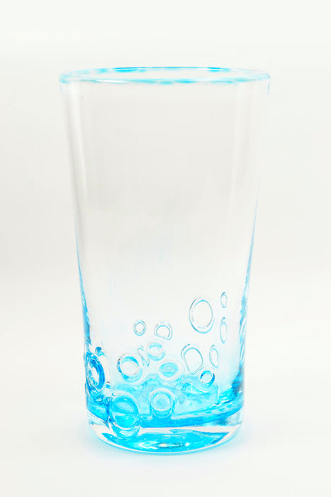 Bubbles Tumbler in Copper Blue