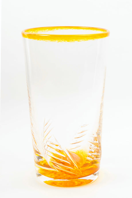Feathered Tumbler in Gold