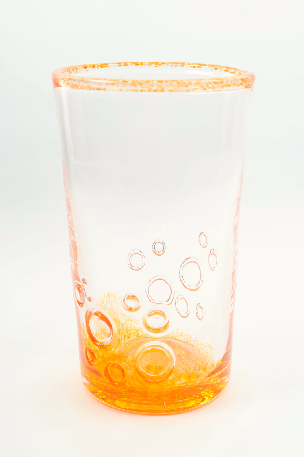 Bubbles Tumbler in Orange
