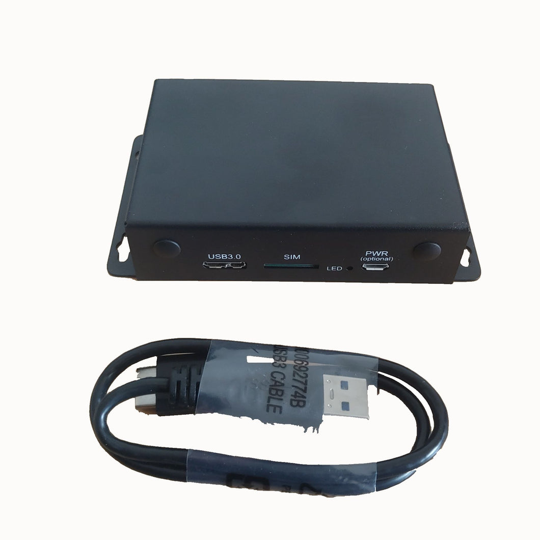 Dual-Q Minipcie to USB3.0  adapter Enclosure with Sim Card Slot fit for Teliet LM960 Quectel EP06 Sierra Wireless MC7455