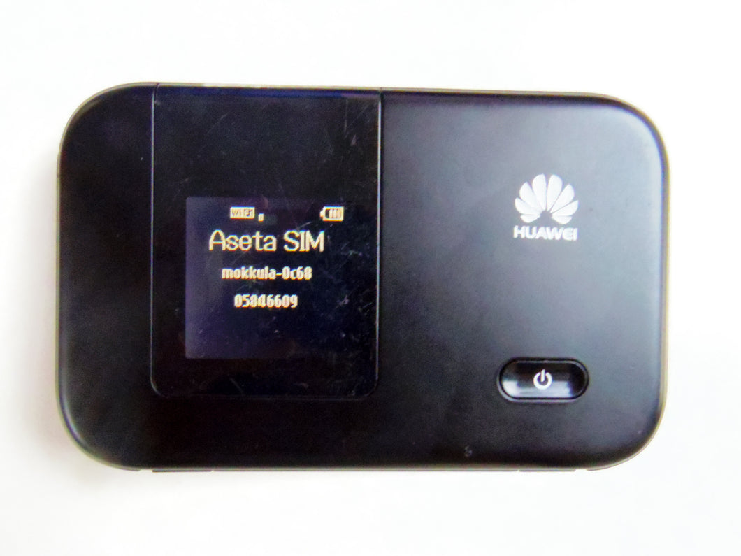 Unlocked Huawei E5372s-32 CAT4 LTE FDD Band 1/3/7/8/20 Mobile Hotspot Router Ship from China