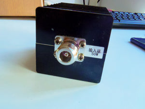 50W 50ohm Resistor Dummy Load N Male 0.8-3GHz Coaxial RF Terminal Termination ship from China