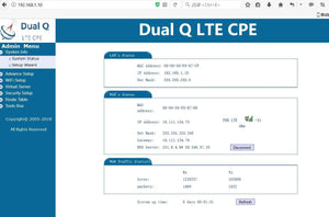 Dual-Q LTE Outdoor router CAT4 Band 1/3/4/5/7/8/28/40 design for AU&NZ Rural POE AU Ship