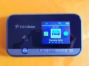 Unlocked ZTE Unite II US Cellular MF96U 4G LTE FDD B4/5/12/17 Mobile Hotspot US Ship