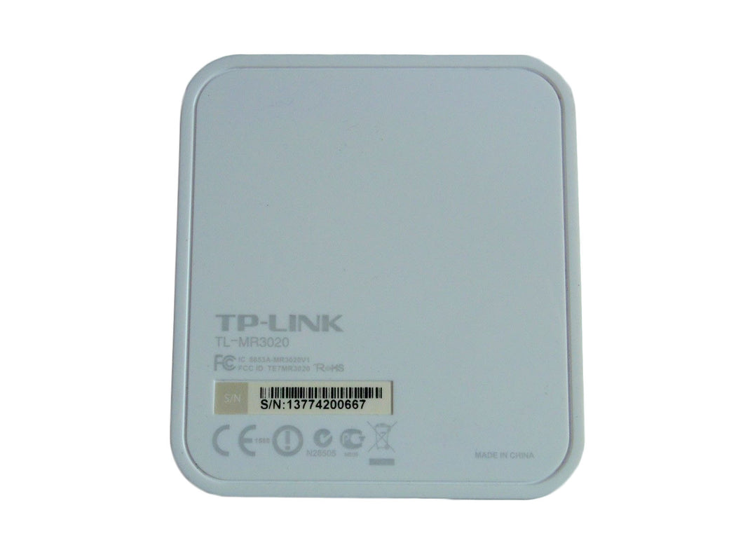 TP-Link TL-MR3020 150 Mbps 1-Port 10/100 Wireless N Portable Router USA Ship