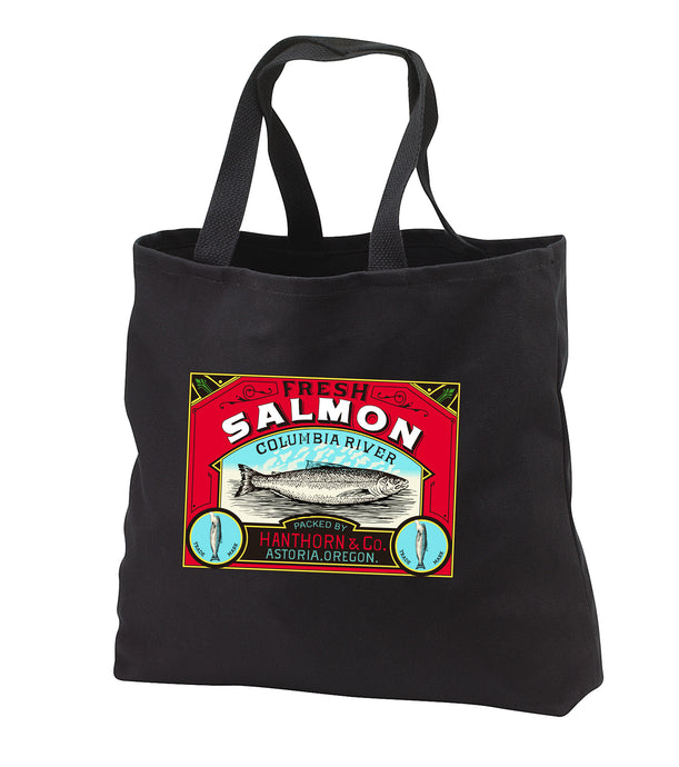 Hanthorn Cannery Salmon Tote Bag