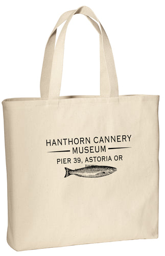 Hanthorn Cannery Logo Salmon Tote