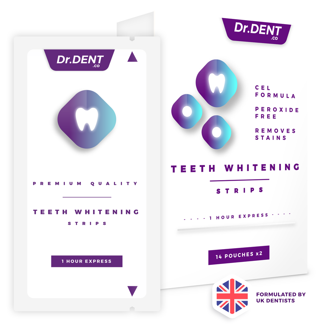 Dr.Dent - Teeth Whitening Strips (14 Pack)