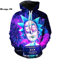Rick and Morty Hoodies - One Piece Gears