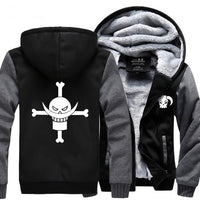 Whitebeard Thick Hoodie - One Piece Gears