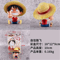 One PIece Straw Hat Pirates Baby Action Figures - One Piece Gears