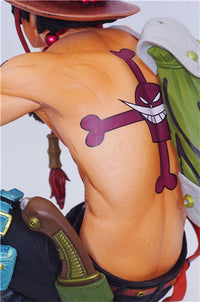 Porgas D. Ace Sitting Action Figure - One Piece Gears