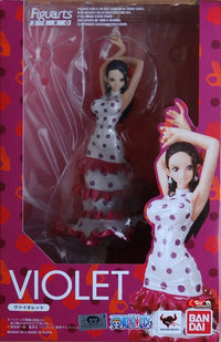 Violet Bandai Action Figure - One Piece Gears