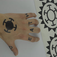 Trafalgar Law Cosplay Tattoo - One Piece Gears