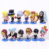 One Piece Dressrosa Series Mini Action Figures Set - One Piece Gears