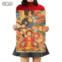 One Piece Straw Hats Wall Posters - One Piece Gears