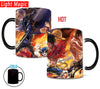 Luffy, Ace and Sabo Heat Sensitive Mugs - One Piece Gears