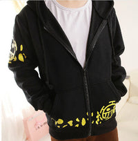 Black Trafalgar Law Hoodie - One Piece Gears