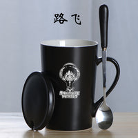 One Piece Coffee Mug with Spoon - One Piece Gears