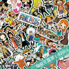 42 Pieces One Piece Stickers - One Piece Gears