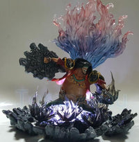 Blackbeard Action Figure with Led Lights - One Piece Gears