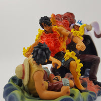 Ace Saves Luffy From Akainu One Piece Action Figure - One Piece Gears