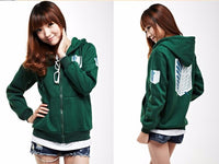 Attack on Titan Unisex Cosplay Hoodie - One Piece Gears