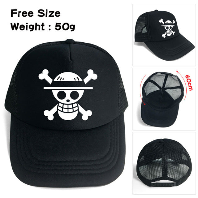 Luffy and Law Baseball Cap - One Piece Gears e4d6f8ec1be